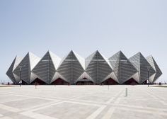 Baku Crystal Hall stadium in Azerbaijan by GMP Architekten