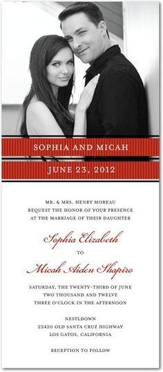 Picturesque Photo Wedding Invitations $1.79 #WeddingInvitations #Weddings