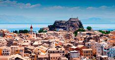 Kerkyra, the queen of the Ionian Sea - Greek City Times Little Island, Big Island, Beautiful Islands, Beautiful Places, Cypress Trees, Corfu, Old City, Greek Islands, San Francisco Skyline