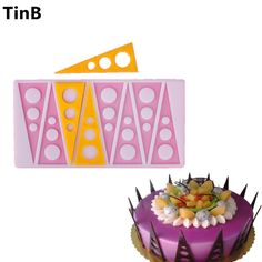 Hot Triangular circle Cake Mold Silicone Baking Tools Kitchen Accessories Decorations For Cakes Chocolates Mold Silicon Mould on Aliexpress.com | Alibaba Group