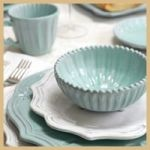 Original pinner sez: dishes for dinners at our beach house