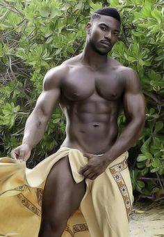 Desnudo sexy fotos hombres negro de