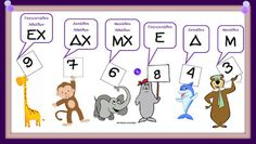 Math Place Value, Dyscalculia, Greek Language, Math Projects, Teaching Math, Maths, School Lessons, Kids Corner, Elementary Math