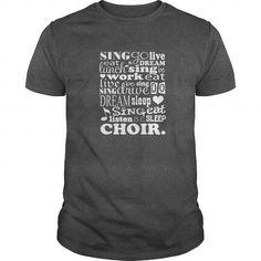 Awesome Tee Choir T-shirt School Music Director Singer Gift Tee Shirts & Tees #tee #tshirt #named tshirt #hobbie tshirts # Choir
