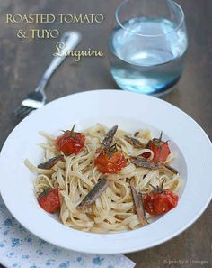Roasted Tuyo and Tomato Linguine