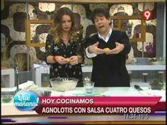 Hoy cocinamos: Agnolotis con salsa cuatro quesos