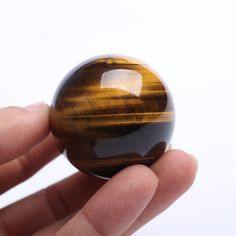 41mm  Limitation Natural quartz HealingTiger eye crystal ball spheres Fengshui Figurines Products for christmas gift