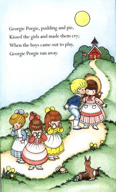 I choose this because this would be a eye catching nursery rhyme to print out and sit in a class room for children to read Nursery Rhymes Poems, Rhymes Songs, Nursery Rymes, Joan Walsh, Pomes, Kids Poems, Rhymes For Kids, Vintage Nursery, Children's Book Illustration