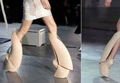 iris van herpen shoes (high fashion rethinking the boot)