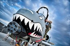 U.S. Air Force A-10 Thunderbolt II #military #armedforces #aircraft #airforce… More