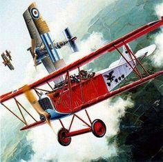 Fokker D.VII v. Camel