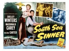 South Sea Sinner Canvas Art - x Macdonald Carey, Michael Ansara, Helena Carter, The Poseidon Adventure, Shelley Winters, Anne Frank, South Seas, Old Movies, Luther
