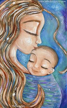 motherhood art that connects and heals, encourages us to be in our moments, touches the soul and comforts the heart. Intimate moments of motherhood captured on canvas and paper. Share your love, celebrate your moments. Mother And Baby Paintings, Baby Artwork, Baby Illustration, Baby Drawing, Iphone Background Wallpaper, Love Painting, Baby Prints, Mothers Love, Stretched Canvas Prints