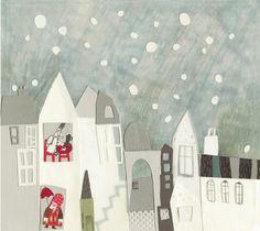 Carmen Queralt: El mundo al que vienes Children's Book Illustration, Illustrations, Happy Paintings, Painting Inspiration, Collage Art, Painting Prints, Art For Kids, Drawings, Poster