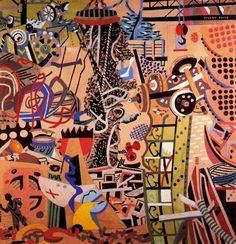 Stuart Davis 1894-1964 | American abstract painter | TuttArt@ | Pittura * Scultura * Poesia * Musica |