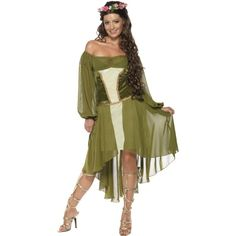 Fair Maiden Costume, Green