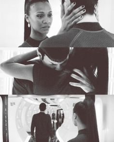 Pinned it before and I'm pinning it again. I will go down with this ship! Spock & Uhura.