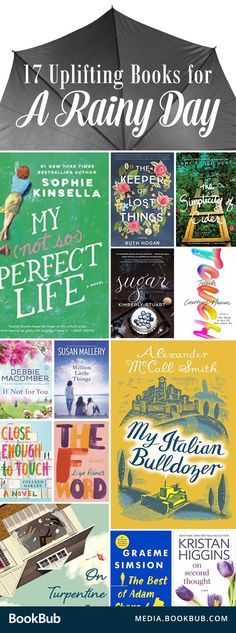 17 books to read when you need a little inspirational from an uplifting story. These funny books are sure to counter the gloom.
