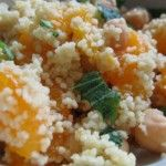 Mint Orange Couscous Salad