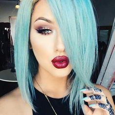 Makeup and hair!