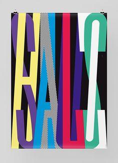 Graphic Design Feixen / Salzhaus #design #print #typography