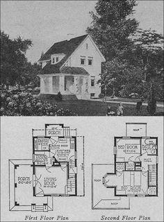 1923 Books of 1000 Homes - Olsen & Urbain No 357