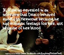 Kisses for those who refuse that Dramione is not a cannon