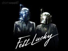 Heh. Mandalorian Daft Punk  ;)