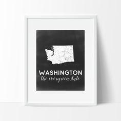 Washington Printable by SamanthaLeigh on Etsy