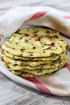 Cauliflower Tortillas - Impress Your Loved Ones:  cauliflower, large eggs, chopped cilantro fresh, lime, salt, pepper