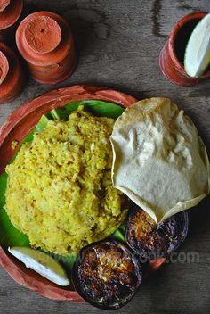"""I'm going to share the """"Astami Special Bhoger Khichuri & Labrar Torkari"""". Bhoger Khichuri is very arometic and tasty. Easy Asian Recipes, Indian Food Recipes, Vegetarian Recipes, Cooking Recipes, Bangladeshi Food, Bengali Food, Food Dishes, Food Food, Cooking Photos"""