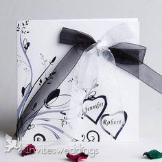 31 Best Ribbon Wedding Invitations Images Ribbon Wedding Wedding