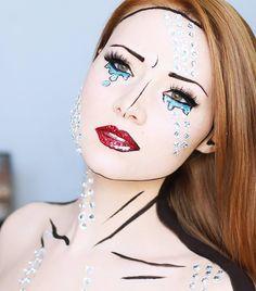 Pop-art girl Mehr
