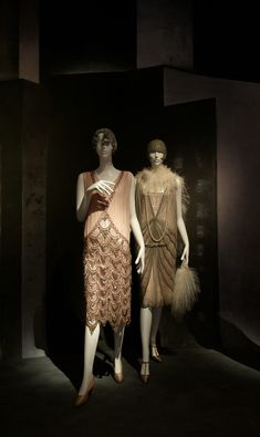 Flapper Gallery, AnonFrench 1925, AnonAmerican 1926, Brooklyn Museum Costume Collection at The Metropolitan Museum of Art