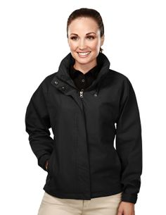 Women's Poplin Jacket With Mesh Lining (65% Polyester/ 35% Cotton) Tri mountain 5320