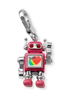 juicy couture robot charm