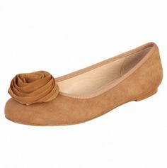 Angelica Suede Flat