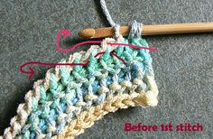 How to do the Teardrop Stitch ❥Teresa Restegui http://www.pinterest.com/teretegui/❥