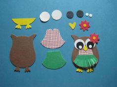 PUNCH ART HULA OWL JR