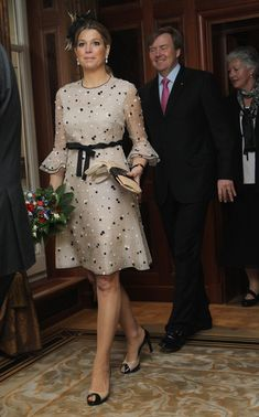 Princess Maxima Photo - HRH Queen Beatrix Of The Netherlands And Crown Prince Couple Willem Alexander And Maxima On Germany Visit - Day 2