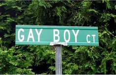 Not #Gay Boy Closet. #FunnySigns #StreetName #NewJersey