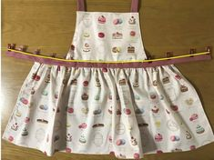 Sewing Aprons, Baby Sewing, No Frills, How To Make, Kids, Fashion, Clothes, Japanese Clothing, Children