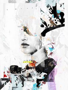 Mydeadpony est autodidacte, et son approche de l'illustration et de l'aquarelle est influencée par la mode, l'art de la rue et les graffitis. Mêlant média digital, peinture et gribouillages, ses collages, composés de couleurs à l'eau, de taches et de textures, forment des images extrêmement détaillées, à la fois précises et aériennes.