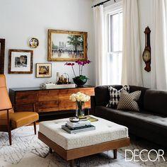 Em perfeita harmonia, mobiliários e adornos concedem graciosidade ao estar