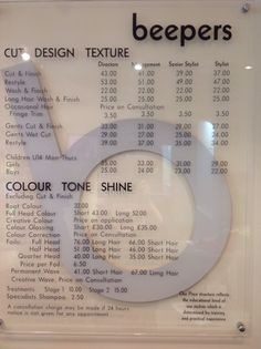 Steve Lupton Hair Hairdressers In Berkhamsted Herts Price List