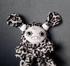 Unique gift handmade fabric rag doll - Leo by SzyszkaDolls on Etsy Unique Gifts, Handmade Gifts, Rag Dolls, Leo, Snoopy, Fabric, Etsy, Kid Craft Gifts, Fabric Dolls