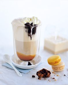 Bailey's Irish Coffee Frappe w/ Butterscotch - yum!
