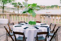 Modern Chic Green & White Wedding   Catherine Ann Photography   Ashton Events
