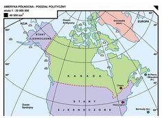 31. Ameryka Północna – podział polityczny