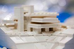 My rough Lego model of Fallingwater